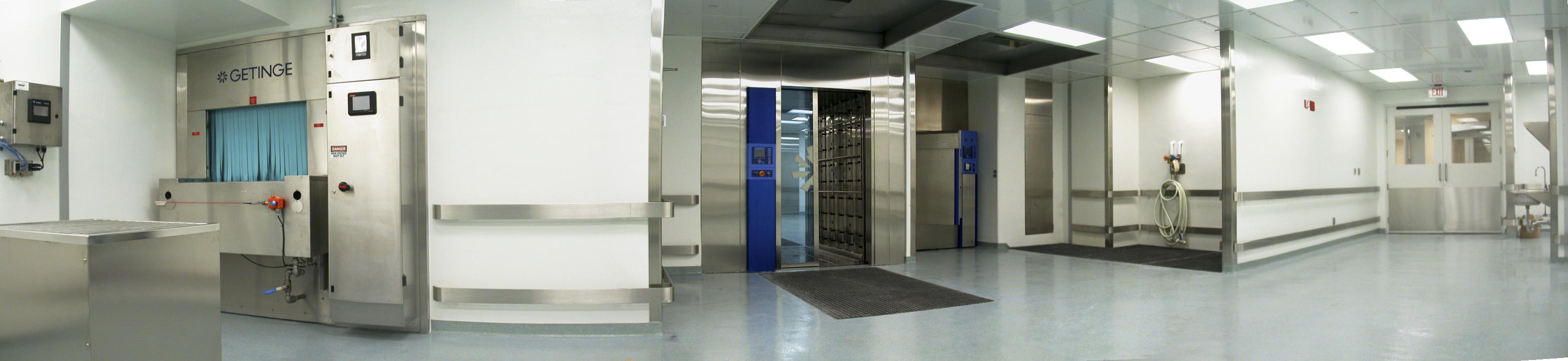 CCBR facility, panorama